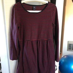 Gap Size Small Striped Maternity Dress